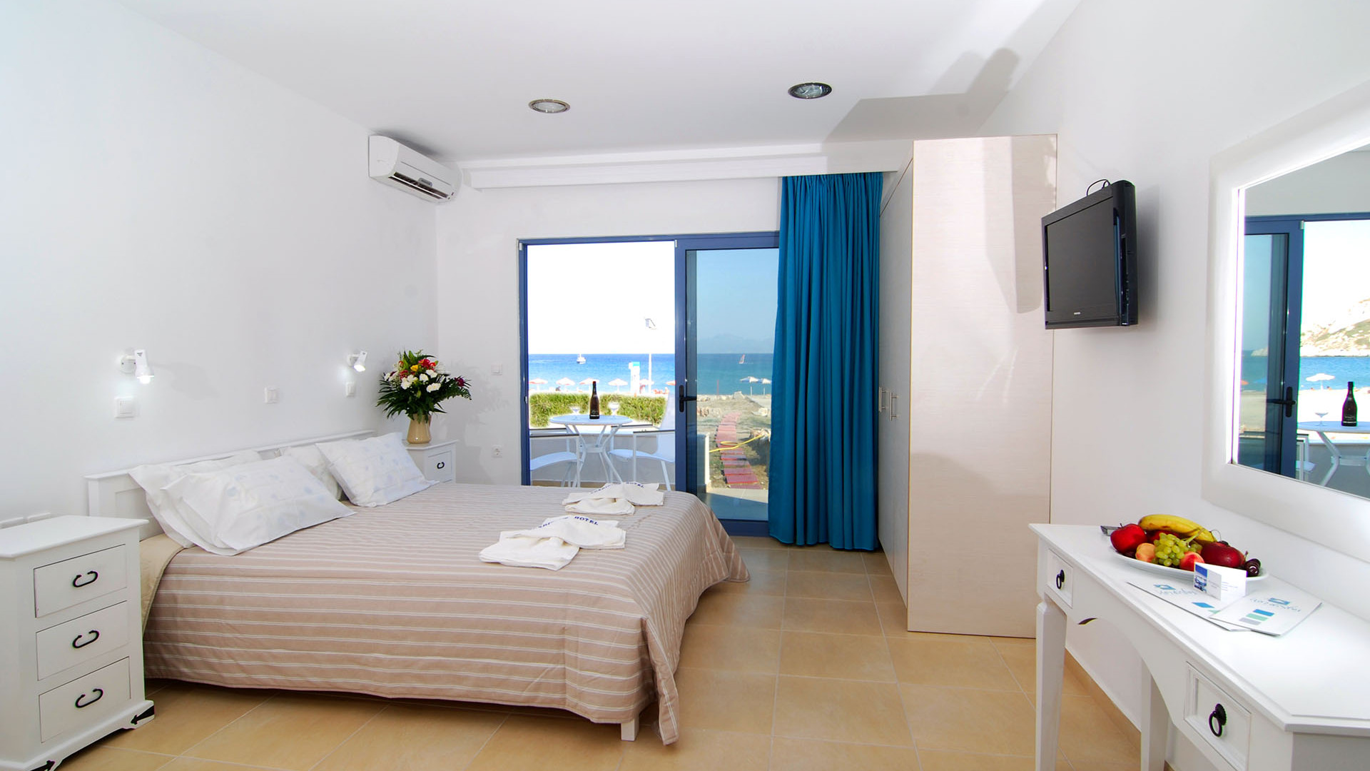 Accommodation in Kefalos